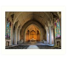Abandoned Church Art Print