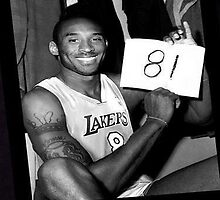 Kobe Bryant - 81 points by potha40