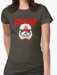 Defector Womens Fitted T-Shirt