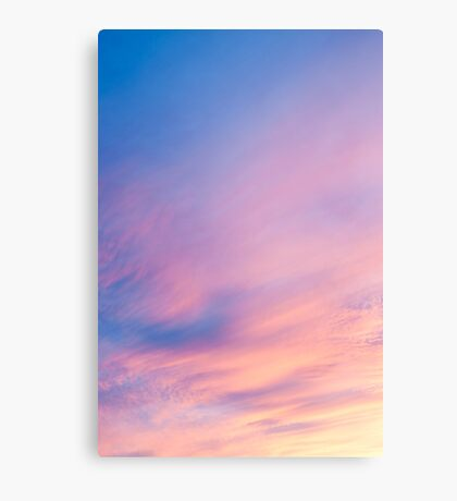 Abstract sky. Canvas Print