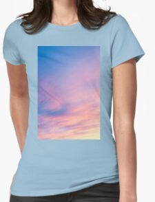 Abstract sky. Womens Fitted T-Shirt