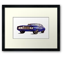Classic Dodge Charger Framed Print