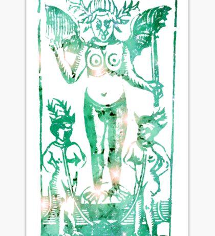 Tarot Le Diable Sticker