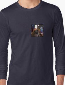 Burmese Cats and the Moon Long Sleeve T-Shirt