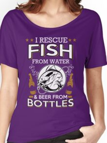 fish and beer Women's Relaxed Fit T-Shirt