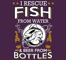 fish and beer Unisex T-Shirt