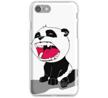 Yawning Panda Cub iPhone Case/Skin
