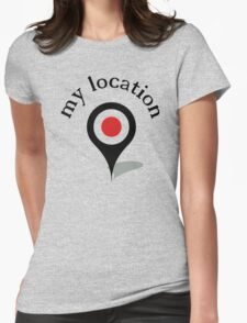 my location Womens Fitted T-Shirt