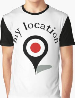 my location Graphic T-Shirt