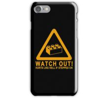 Watchout! iPhone Case/Skin