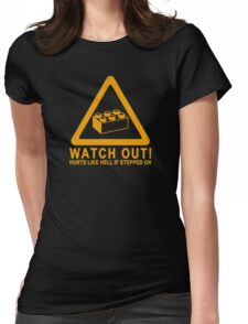 Watchout! Womens Fitted T-Shirt