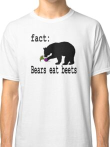 The Office Bears Eat Beets  Classic T-Shirt