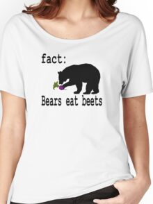 The Office Bears Eat Beets  Women's Relaxed Fit T-Shirt