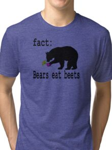 The Office Bears Eat Beets  Tri-blend T-Shirt