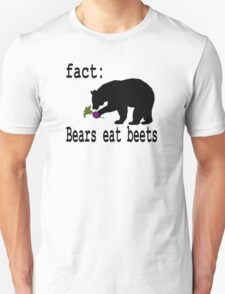 The Office Bears Eat Beets  Unisex T-Shirt