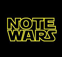 Note Wars by baybayse
