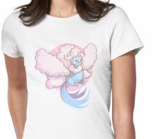 Mega Floof Womens Fitted T-Shirt