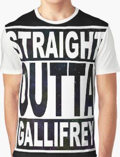Straight Outta Gallifrey Graphic T-Shirt