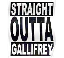 Straight Outta Gallifrey Poster
