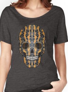 Sugar Skull (Tiger Clouds) Women's Relaxed Fit T-Shirt