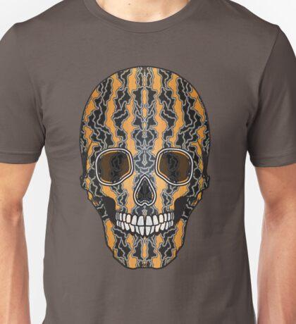 Sugar Skull (Tiger Clouds) Unisex T-Shirt