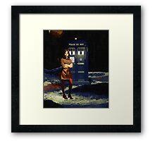 Clara Oswald Framed Print