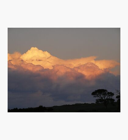 Landscapes in the sky!  Mount Pleasant.  Photographic Print