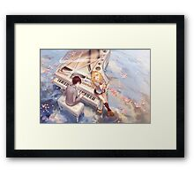 Your Lie In April Framed Print