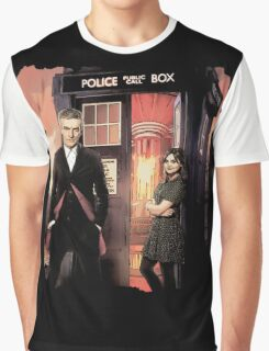 Capaldi Doctor Who Graphic T-Shirt