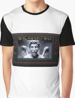 Weeping Angel Video Game Graphic T-Shirt
