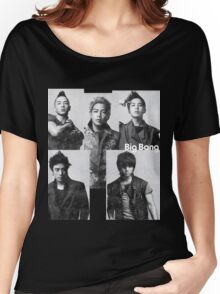 Big Bang in Black & White Women's Relaxed Fit T-Shirt