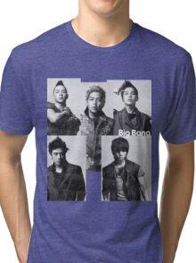Big Bang in Black & White Tri-blend T-Shirt