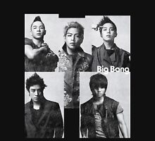 Big Bang in Black & White Womens Fitted T-Shirt