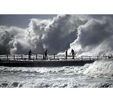 Big swell North Narrabeen Photographic Print