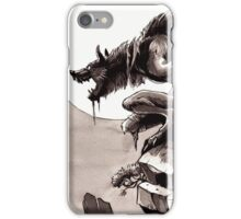 Crag Werewolf iPhone Case/Skin
