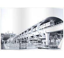Miami Metro Hub Poster