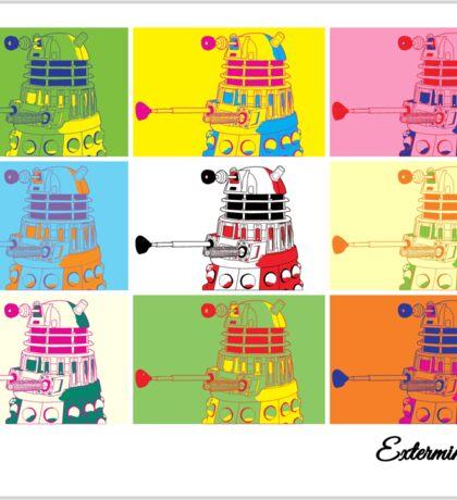 Dalek Warhol Sticker