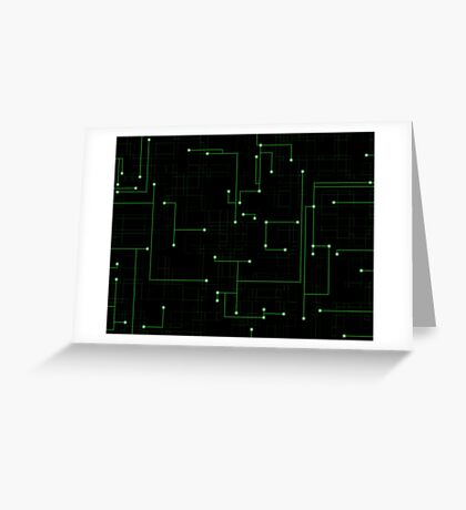 Circuitry Greeting Card