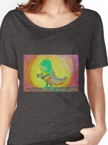 The World's Nicest Dinosaur Women's Relaxed Fit T-Shirt