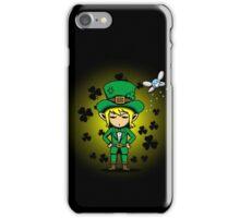 Saint PatLINK's Day iPhone Case/Skin