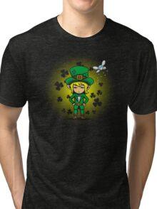 Saint PatLINK's Day Tri-blend T-Shirt