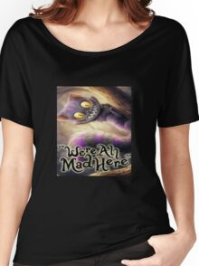 Alice in wonderland chesire cat Women's Relaxed Fit T-Shirt