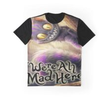 Alice in wonderland chesire cat Graphic T-Shirt