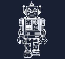 Vintage Toy Robot V2 Baby Tee