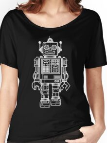 Vintage Toy Robot V2 Women's Relaxed Fit T-Shirt