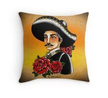 El Mariachi Throw Pillow