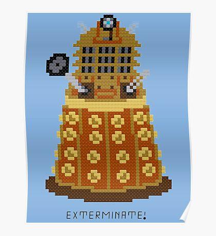 Dalek Exterminate Poster