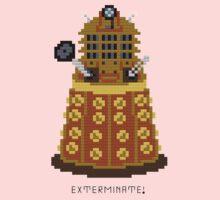 Dalek Exterminate One Piece - Short Sleeve