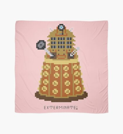 Dalek Exterminate Scarf