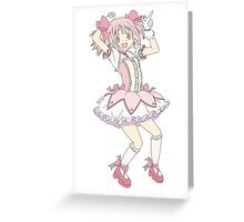 Magical Girl Madoka Greeting Card